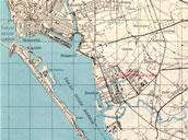 Army Map Service No. L792:Map of Formosa 1/50000:TAKAO (高雄),1945